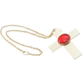 Dracula / Pope Cross Necklace (Halloween Jewellery)
