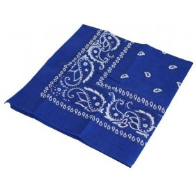 Cowboy Bandana/Blue (Cowboys/Indians Fancy Dress)