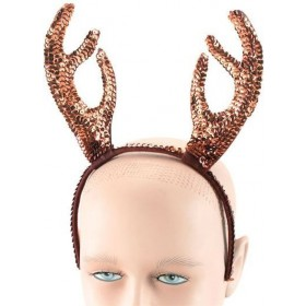 Reindeer Horns. Sequin (Christmas Disguises)