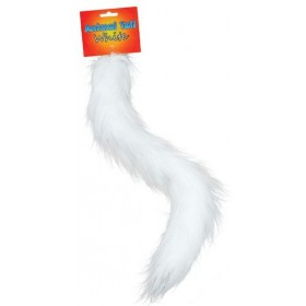 Animal Tail. White (Animals Fancy Dress Disguises)