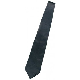 Gangster Tie. Black (1920S Fancy Dress)
