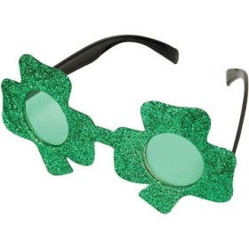 Irish Glasses (Shamrock) (Cultures Fancy Dress Glasses)