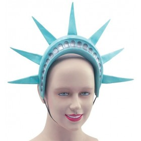 Statue Of Liberty Headband. (Cultures Fancy Dress Hats)