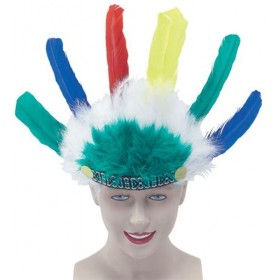 Native American Headdress Childs (Cowboys/Native Americans Fancy Dress)