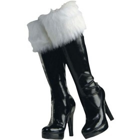 Fur Boot Cuffs (Christmas Shoes)