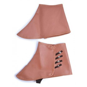 Steampunk Spats. Brown Accessories