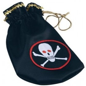 Pirate Coin Pouch Deluxe (Pirates Fancy Dress)