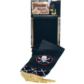 Pirate Waist Sash Deluxe (Pirates Fancy Dress)