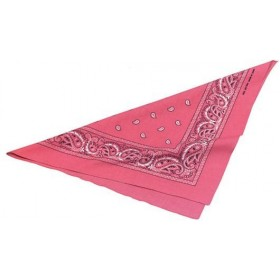 Cowgirl Bandana. Pink (Cowboys/Native Americans Fancy Dress)