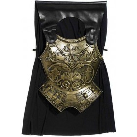 Roman Chest Plate With Cape (Roman Fancy Dress Disguises)