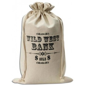 Money Bag. Wild West (Cowboys/Indians , Cops/Robbers Fancy Dress)