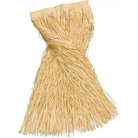 Grass Skirt (Plastic), Plain, Adult 80Cm (Hawaiian Fancy Dress)