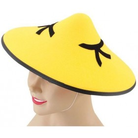 Chinese Coolie Felt Hat (Cultures Fancy Dress Hats)