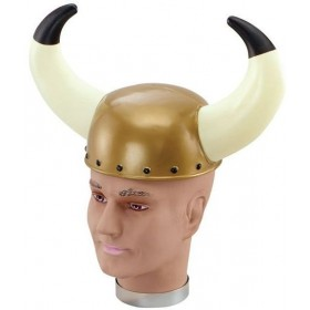 Viking Helmet.Plastic/Horns (Viking Fancy Dress Hats)