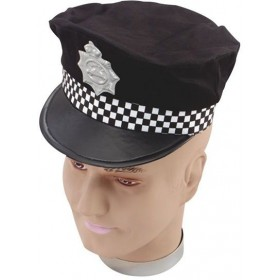 Panda Car Hat (Cops/Robbers Fancy Dress Hats)