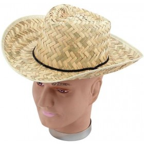 Straw Stetson (Cowboys/Indians Fancy Dress Hats)