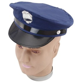 New York Police Hat. (Cops/Robbers Fancy Dress Hats)