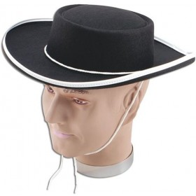 Bandit Felt Hat. Budget (Cultures Fancy Dress Hats)