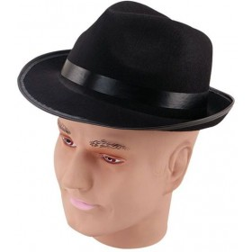 Blues Felt Budget Hat (1950S , 1920S Fancy Dress Hats)