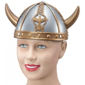Viking Helmet. Small (Viking Fancy Dress Hats)