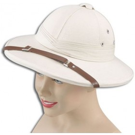 Safari Helmet Beige (Hard) (Cultures Fancy Dress Hats)