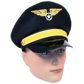 Pilot Hat (Pilot/Air Fancy Dress Hats)