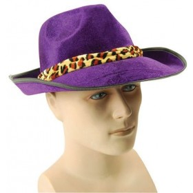 Fedora. Velvet, Purple (1920S Fancy Dress Hats)