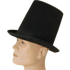 Stovepipe Top Hat. Budget (1920S , Old English Fancy Dress Hats)