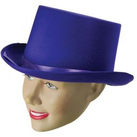 Top Hat Purple (1920S Fancy Dress Hats)