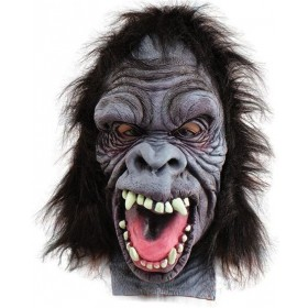 Gorilla Mask Overhead (Animals Fancy Dress Masks)