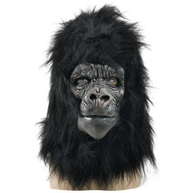 Gorilla Mask Deluxe (Animals Fancy Dress Masks)
