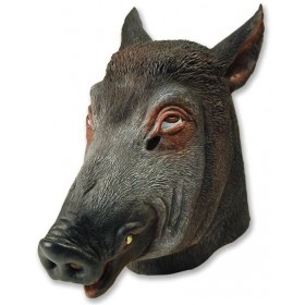 Boar Mask (Animals Fancy Dress Masks)