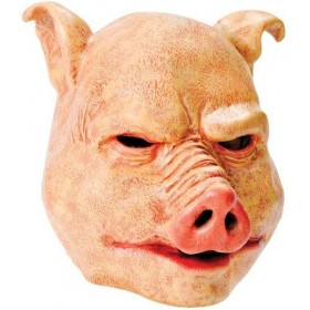 Horror Pig. Latex (Halloween , Animals Masks)