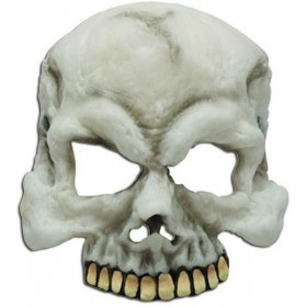 Skull Half Mask. Gid (Halloween Masks)