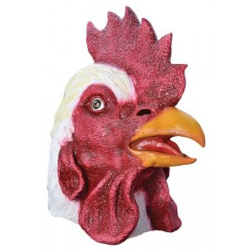Rooster Rubber Mask