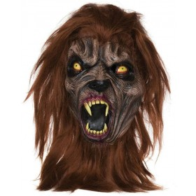Adult Deluxe Evil Dark Beast Mask Halloween Fancy Dress Accessory