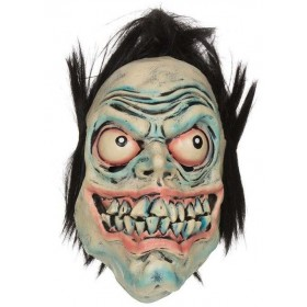 Adult  Manic Death Mask Halloween Fancy Dress Accessory
