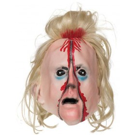 Adult Bloody Zip Face Mask Halloween Fancy Dress Accessory