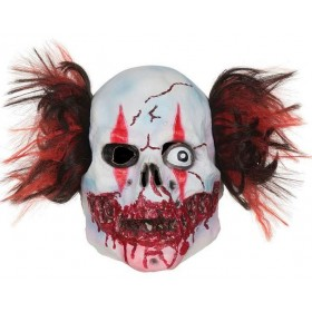 Adult Deluxe Manic Circus Clown Halloween Fancy Dress Accessory