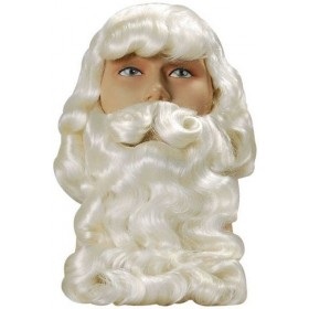 Father Xmas Wig/Beard. Superior (Christmas Wigs)