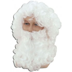 Father Xmas Wig/Beard. Cheap (Christmas Wigs)