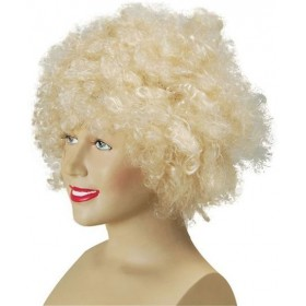 Pop Wig. Budget. Blonde (Clowns , 1970S Fancy Dress Wigs)