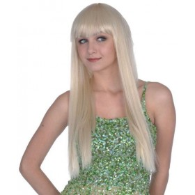 "Fringewig.24"" Blonde. Best (Fancy Dress Wigs)"