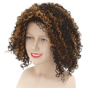 Mel B 'Scary Spice ' Wig (Music Fancy Dress Wigs)