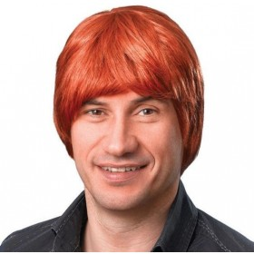Male Wig. Short. Ginger (Fancy Dress Wigs)