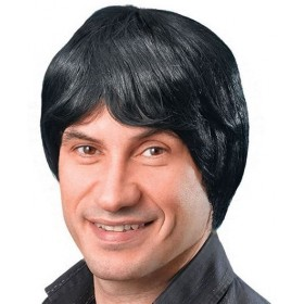 Male Wig. Short. Black (Fancy Dress Wigs)