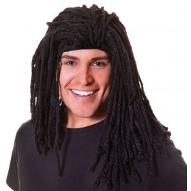 Rasta Wig. Long Ruud Guillet (Cultures , Hawaiian Fancy Dress Wigs)