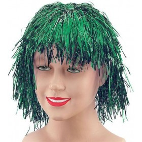 Tinsel Wig. Green (1970S Fancy Dress Wigs)