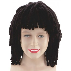 Rasta Wig. Short Ruud Guillet (Cultures , Hawaiian Fancy Dress Wigs)