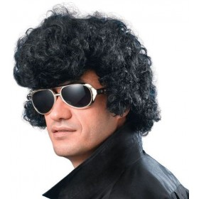 Elvis Wig/High Quiff Budget (Music , 1950S Fancy Dress Wigs)